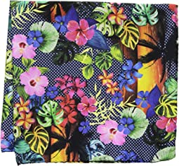 Eton - Tropical Sunset Pocket Square