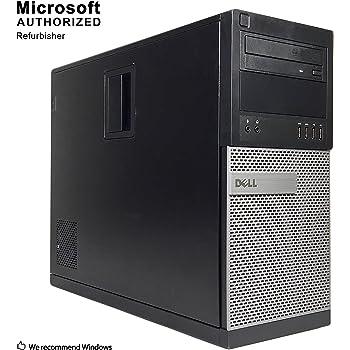 Dell Optiplex 9010 Desktop Tower PC, Intel Quad Core i5 (3.40GHz) Processor, 16GB RAM, 2TB Hard Drive, Windows 10 Professional, DVD, HDMI, Bluetooth, Keyboard, Mouse, WiFi (Renewed)