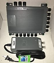 DirecTV SWM16 Single Wire Multi-Switch (16 Channel) (SWM-16) With 29V Power Supply Combo Kit by MN Nice