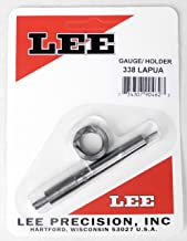 Lee Precision Reloading Gauge/Holder 338 Lapua Lee Precision Gauge/Holder 338 Lapua, Silver, Small
