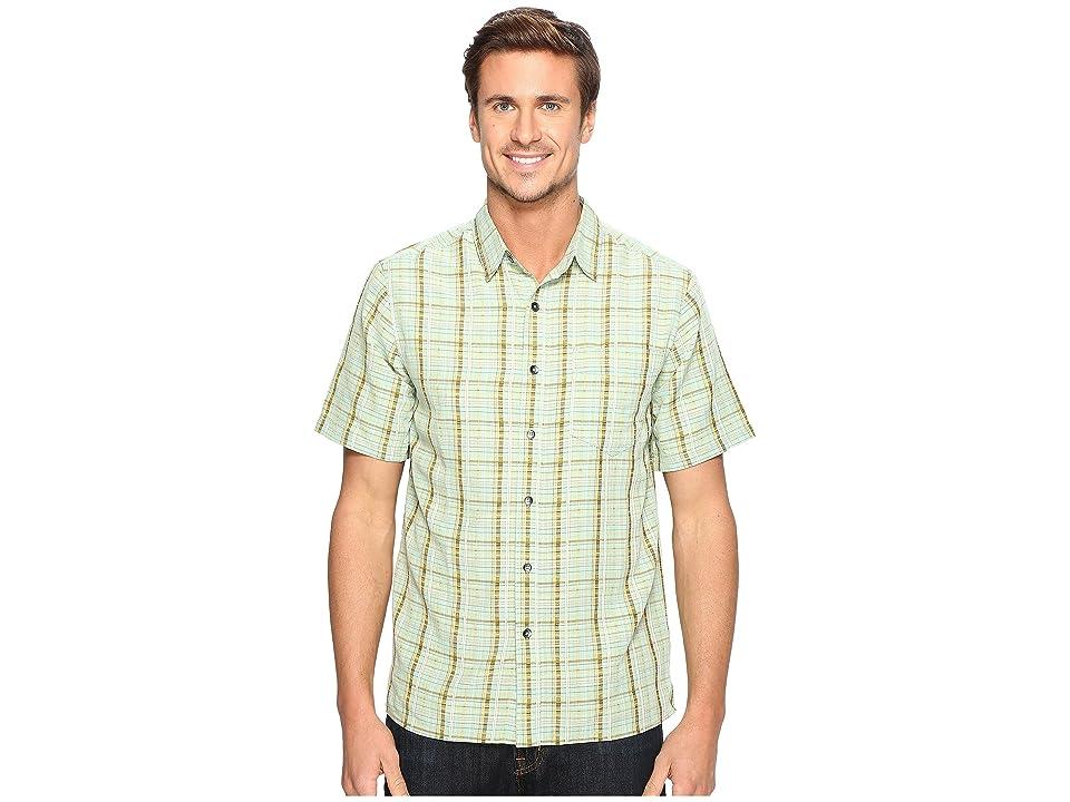 Royal Robbins Pilat Plaid Short Sleeve Shirt (Bowden) Men