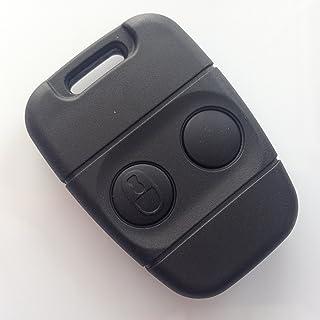 /à 5/boutons pour Range Rover Evoque Discovery Freelander Sport 2014 Coque de protection en plastique rigide ABS en 2/pi/èces pour porte-cl/és 2015 2016 . rouge