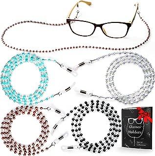 Eye Glasses String Holder – Premium Beaded Eyeglass Holders Around Neck –..