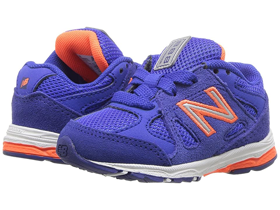 New Balance Kids KJ888v1I (Infant/Toddler) (Pacific/Dynomite) Boys Shoes