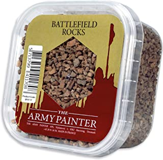 The Army Painter Battlefield Essential Series: Battlefield Rocks for Miniature Bases and Wargame Terrains - Small Stones f...