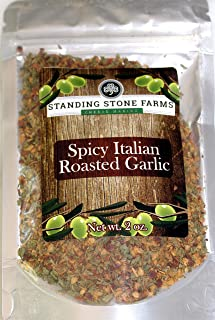 Standing Stone Farms - SPICY ITALIAN ROASTED GARLIC Herbs & Spices