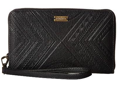Roxy Oopsie Daisy Wallet (Anthracite) Wallet Handbags