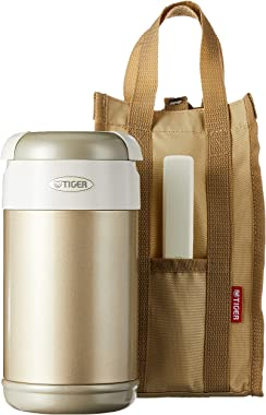 Tiger LWR-A092 Thermal Lunch Box, Champagne Gold