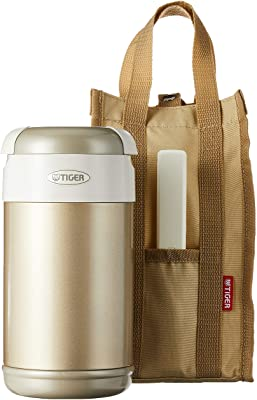 Tiger LWR-A092 NN Thermal Lunch Box, Champagne Gold