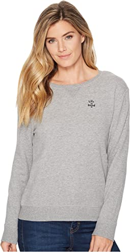 LIG Word Mark Go-To Crew Neck Sweatshirt