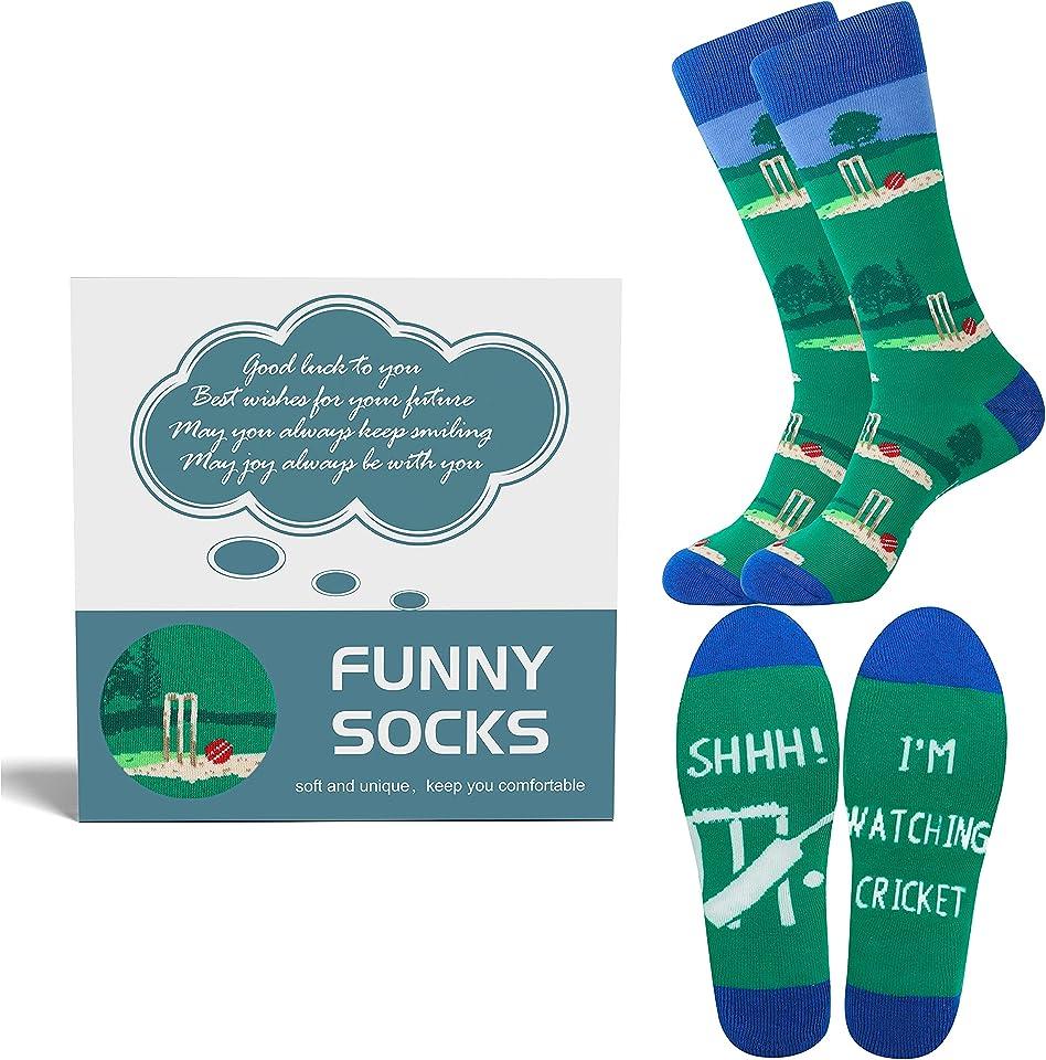 Gifts for Men, Fishing Socks Fisherman Socks Novelty Socks Funny Funky Socks Gifts for Fisherman