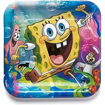SpongeBob Collection Classic Dessert Plates Party Accessory Designware 3979567
