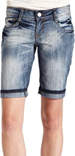 Southpole Juniors Bermuda Short With Zipper Back Pocket Detail