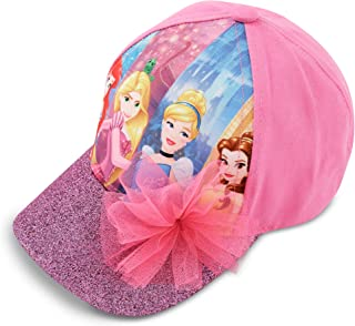 Disney Little Girls Princess Characters Cotton Baseball Cap