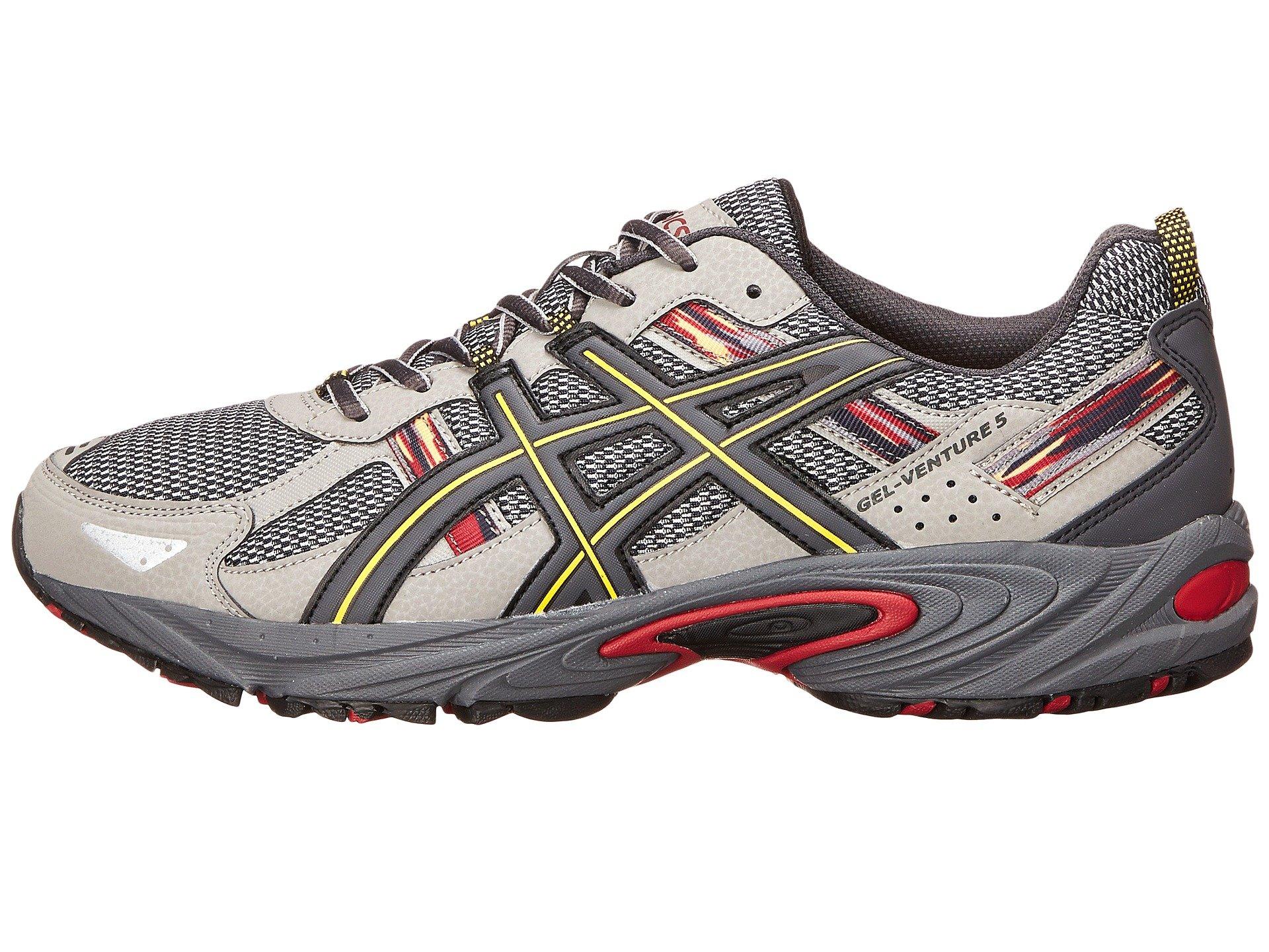 Asics Men S Gel Venture  Running Shoe Silver Gray Royal