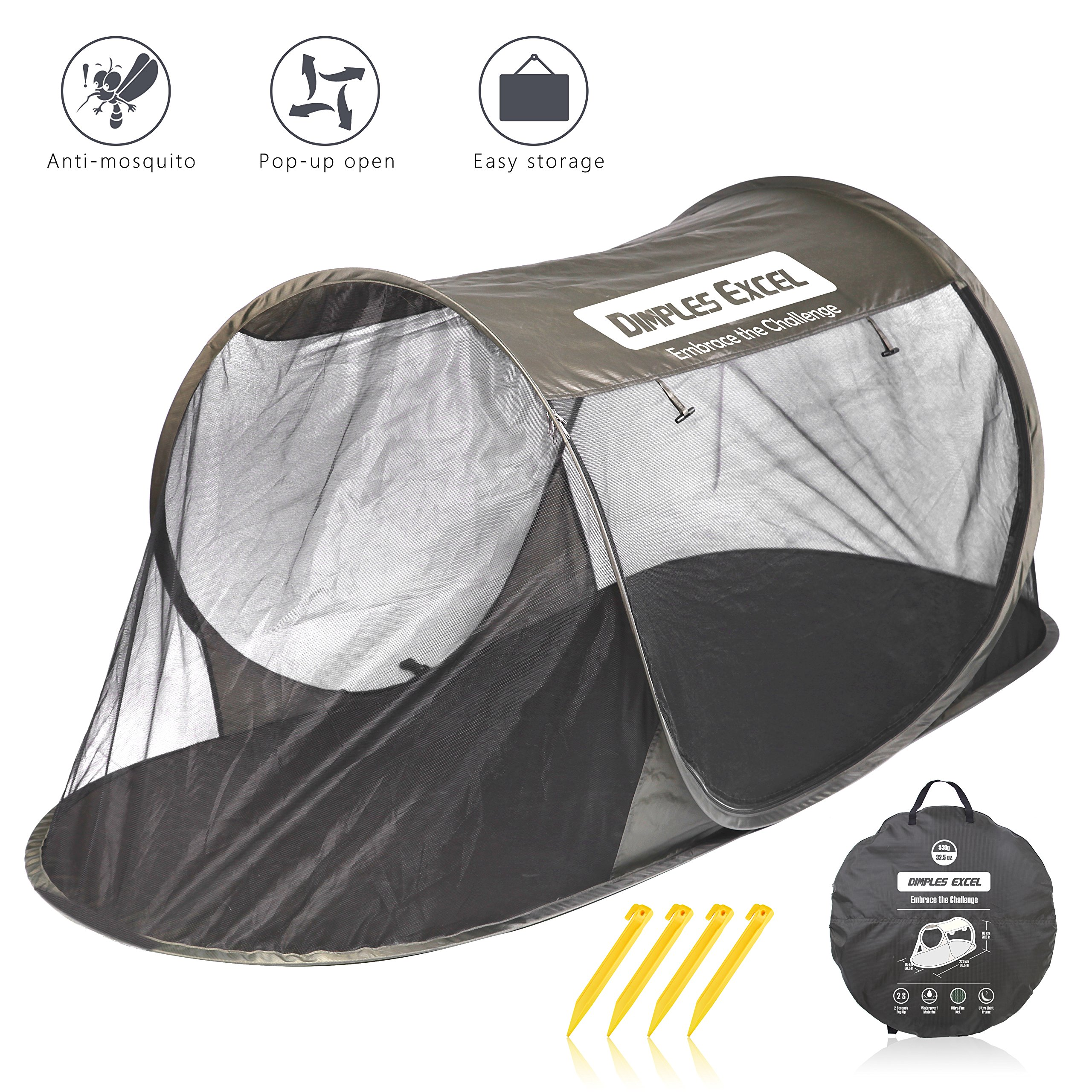 Mosquito Automatic Self expanding Traveling Backpacking