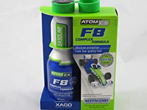 Atomex F8 Complex Formula. Сomplete protection of gasoline engine against low-quality fuel (aluminum bottle 250 ml)