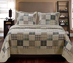 Greenland Home 2-Piece Oxford Quilt Set, Twin, Multicolor
