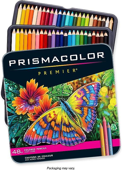 Sanford prismacolor premier colored pencil set, 48/tin (japan import) 3598T