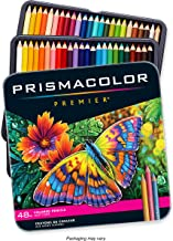 Prismacolor 3598T 48 Piece Prismacolor Colored Art Pencil Set, Multicolor