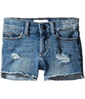 DL1961 Kids - Lucy Cutoff Shorts in Needle (Toddler/Little Kids)