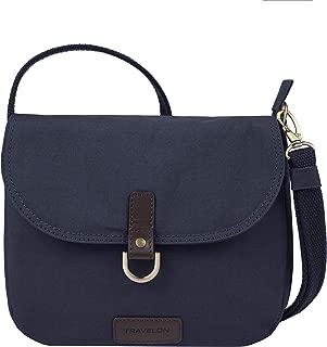 Travelon Women's Anti-Theft Courier Saddle Crossbody Cross Body Bag