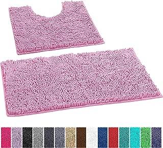 Best pink bathroom mat set Reviews