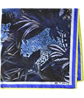 Etro - Jungle Pocket Square