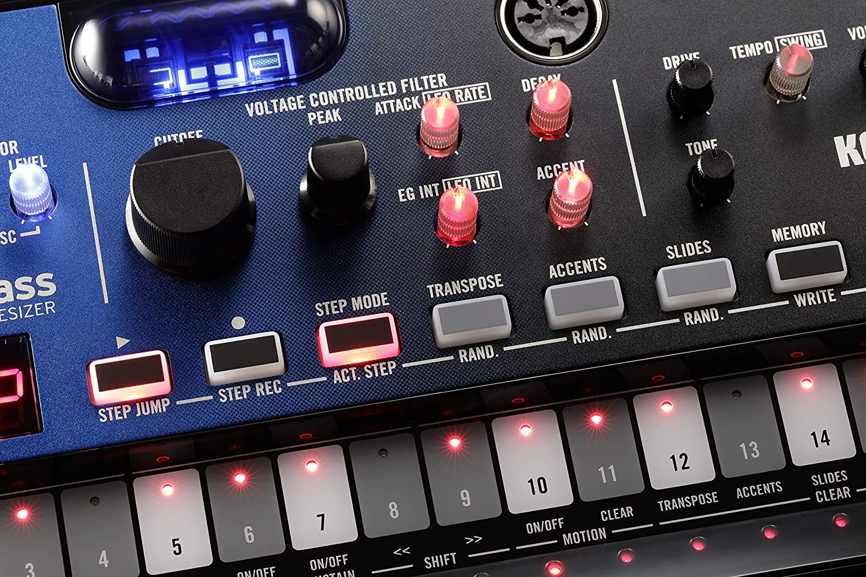 Amazon.com: Korg Volca NuBass Vacuum Tube Bass Synth: Musical Instruments