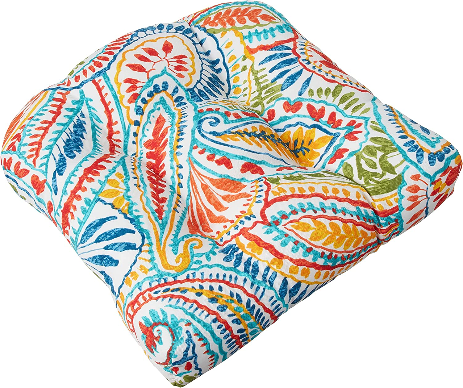 Pillow Perfect 566450 Outdoor Indoor Cushions Spring Super beauty product restock quality top! new work Seat Ummi Tufted