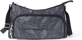 حقيبة باغاليني اليومية كروسبودي - محفظة أنيقة وخفيفة الوزن مع محفظة مدمجة وحزام قابل للتعديل
