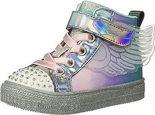 Skechers Kids' Shuffle Lite-Lil Sparkle Wing Sneaker
