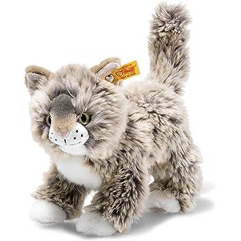 Steiff Kizzy Cat (Grey Beige): Amazon.co.uk: Toys & Games
