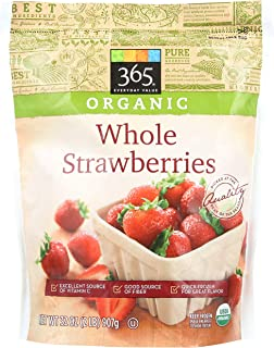 365 Everyday Value, Organic Whole Strawberries, 32 oz, (Frozen)