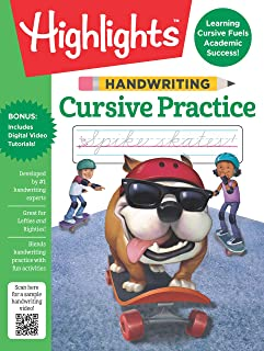 Handwriting: Cursive Practice (Highlights(TM) Handwriting Practice Pads)