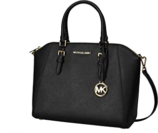 Michael Kors Large Ciara Saffiano Leather Womens Satchel