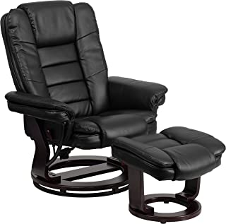 Best black leather swivel chair for sale Reviews