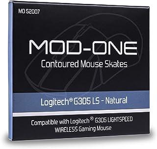 MOD-ONE Contoured Mouse Skates for Logitech G305 Lightspeed, Natural