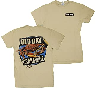 Official Licensed Old Bay Seasoning Crabavore Men's T-Shirt