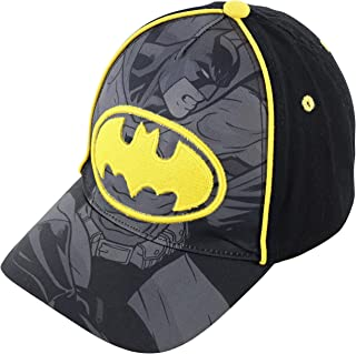 Toddler Boys' Batman Baseball Cap Age-1-3 Black