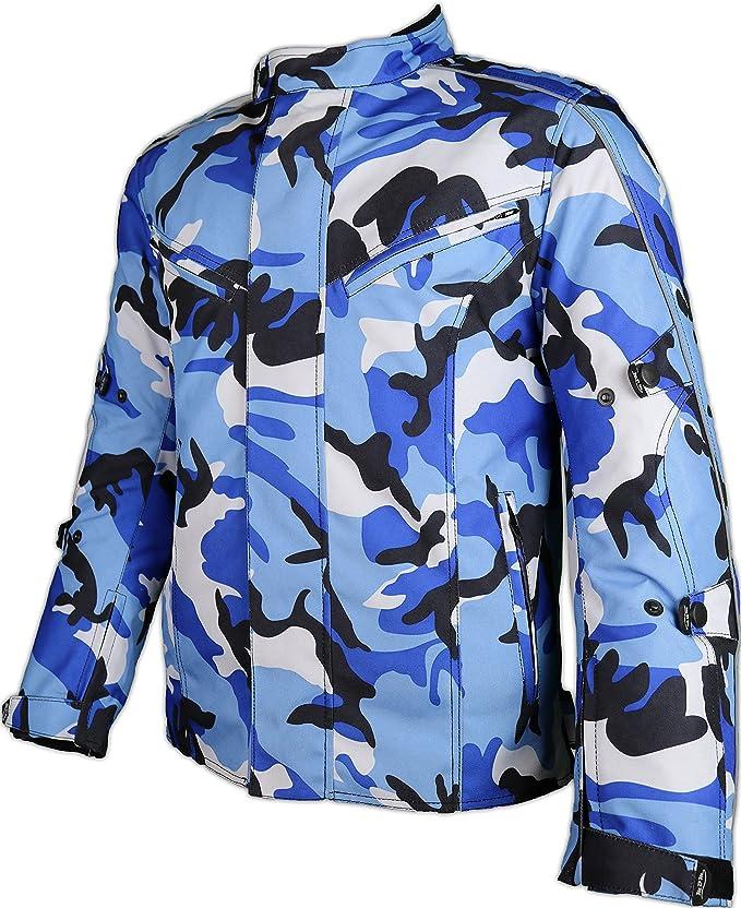 Chaqueta para moto MDM para hombre, en colores de camuflaje ...