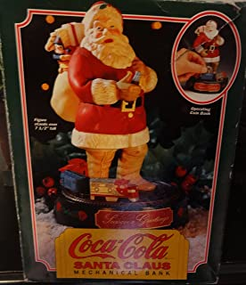 Erytl Coca-Cola Santa Claus Mechanical Bank 1st in Series