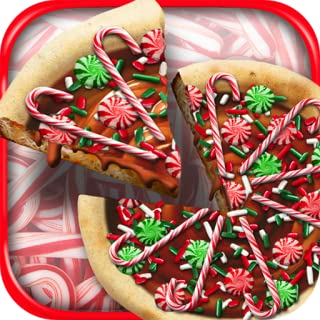 Christmas Candy Pizza Maker Baker – Kids Winter Holiday Dessert Cooking Game