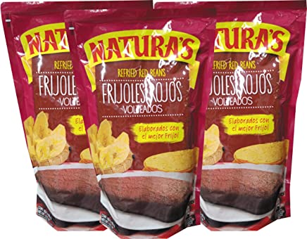 Naturas Refried Red Beans From Costa Rica (400g) (3 ...