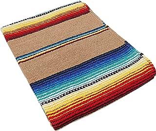 El Paso Designs Serape falsa Blanket- 57