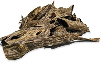 Agarwood Chips Oud Chips 100 Grams Pieces | 100% Natural and Wild Agarwood Chips | Long Lasting 4 Hours Aroma | Premium Quality | Made from Hand Picked Vietnam Agarwood | Pure and Raw
