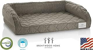 Brentwood Home Deluxe Gel Memory Foam Orthopedic Pet Bed, 100% Made in USA, Waterproof, CertiPUR-US