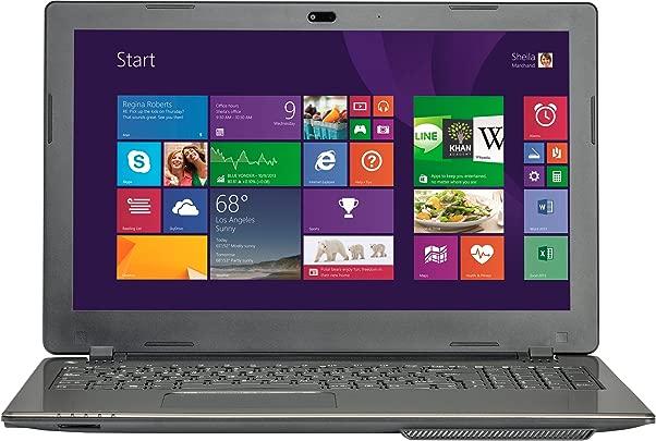 MEDION AKOYA P6647  MD 98571  39 6 cm  15 6 Zoll  Laptop  Intel Core i5 4200M  2 3 GHz  GB RAM  1TB HDD  Win 8  schwarz