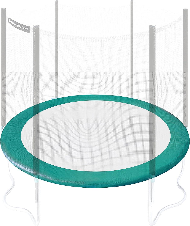 Ultrasport Randabdeckung für Gartentrampolin Jumper, Federabdeckung in der Farbe Blau, Trampolin Randschutz für Durchmesser 180 bis 430 cm, Trampolinzubehr für mehr Sicherheit, Blau