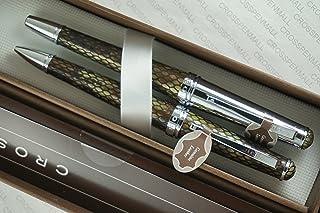 Cross Executive Companion Genuine Textures and Diamondback Italian Leather Selectip Rollerball Pen and Ballpoint Pen . Ima...